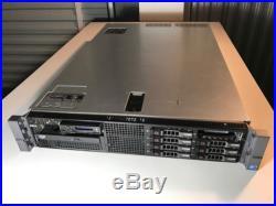 Dell PowerEdge R710 2x X5670 6C 2.93GHz 128GB RAM 8x 146GB 15K H700 512MB iDRAC6