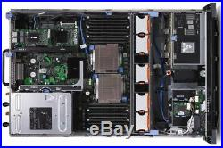 Dell PowerEdge R710 2x X5675 3.06GHZ SixCore 128GB RAM H700 3.5 2x146GB SAS 15K