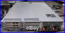 Dell PowerEdge R710 2x Xeon Quad Core E5540 @2.53GHz, 24GB 2x148G 0T954J Perc 6i