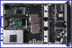 Dell PowerEdge R710 2x Xeon X5675 3.06GHZ Six Core 96GB DDR3 PERC H700 6xCADDIES