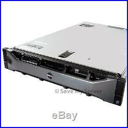 Dell PowerEdge R710 8-Core 2.5 Server 32GB RAM PERC6i DVD iDRAC6 + 2 Trays