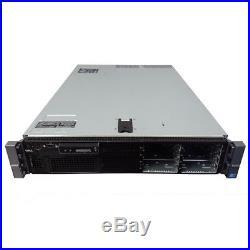 Dell PowerEdge R710 8-Core 2.5 Server 32GB RAM PERC6i DVD iDRAC6 & 2x 600GB 10k