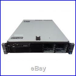 Dell PowerEdge R710 8-Core 2.5 Server 32GB RAM PERC6i iDRAC6 + 2 Trays