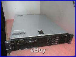 Dell PowerEdge R710 8-Core 2x Xeon E5506 QC @ 2.13GHz 8GB PC3 PERC 6/i 2.5+