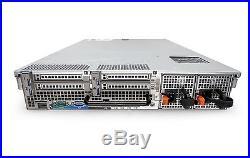 Dell PowerEdge R710 8-Core 3.5 HDD Server 48GB RAM PERC6i iDRAC6 + 2 Trays
