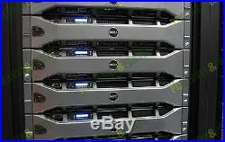Dell PowerEdge R710 8-Core 3.5 Server 24GB RAM PERC6i iDRAC6 + 4 Trays