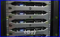 Dell PowerEdge R710 8-Core 3.5 Server 48GB RAM 2x 1TB HDD PERC6i iDRAC6