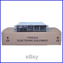 Dell PowerEdge R710 8x2.5 LFF 2U Server CTO with 2x 870W PS, iDRAC 6 Ent, PERC 6i