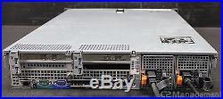 Dell PowerEdge R710 Server 2U 2x 2.40GHz Quad Core 120GB No HDD SAS