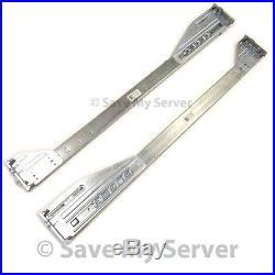 Dell PowerEdge R710 Server 2U Sliding Rapid Rail Kit Left Right P242J M997J