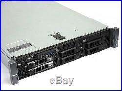 Dell PowerEdge R710 Server-2X Quad Core Xeon E5540 2.53GHz-72GB RAM-3x300GB 15K