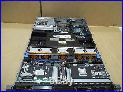 Dell PowerEdge R710 Server 2x2.26GHz 8 Core 48GB 4x300GB Quad Gigabit withRAILS