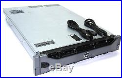Dell PowerEdge R710 Server 2x 2.00GHz Quad Core E5504 Xeon 72GB DVD-ROM