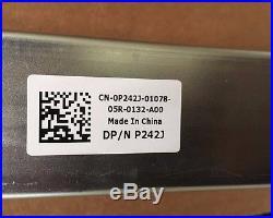 Dell PowerEdge R710 Server Rapid Rail Set Kit Left Right 0P242J 0M997J