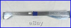 Dell PowerEdge R710 Server Sliding Rapid Rail Kit P242J M997J Left/Right