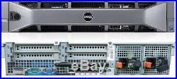 Dell PowerEdge R710 Server Two 6 Core 2.93GHz/X5670 128GB 2 x 1.2TB H700