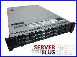Dell PowerEdge R720XD Server, 2x E5-2690V2 3GHz 10Core, 128GB, 12x Trays, H310