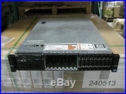 Dell PowerEdge R720 2U Server 2x Xeon E5-2660 16 Cores 32GB RAM H710 Tested