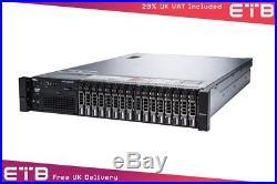 Dell PowerEdge R720 2 x E5-2640, 64GB, 16 x 600GB SAS, H710, iDRAC7 Ent