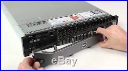 Dell PowerEdge R720 2x Xeon E5-2630 Turbo 2.80GHz 96GB DDR3 H710 8x2.5 caddy