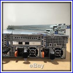 Dell PowerEdge R720 2x Xeon E5-2640 2.5GHz Rack Server with 16x 600GB SAS & 128GB