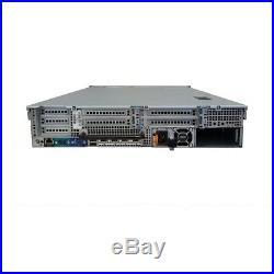 Dell PowerEdge R720 8B SFF Server 2x E5-2620 2.0GHz 12 Cores 16GB RAM H310