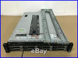 Dell PowerEdge R720 Server 2 x Xeon E5-2690 @2.90Ghz 192GB PERC H710 Rails 4.2TB