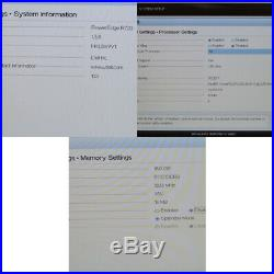 Dell PowerEdge R720 Server Intel E5-2640 2.50Ghz 6-core 16GB No HDDs H710