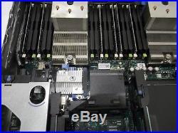 Dell PowerEdge R720 Virtualization Server 12-Core 64GB 4x300GB 10K 1.2TB PERC710