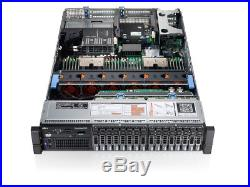 Dell PowerEdge R720 Xeon E5-2670 2.60GHz 192GB DDR3 4x300Gb 10K Perc H710 iDRAC7