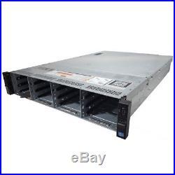 Dell PowerEdge R720xd 12B 12-Core 2.10GHz E5-2620 v2 32GB RAM H710 No HDD