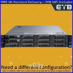 Dell PowerEdge R720xd 2 x E5-2609, 16GB, 2 x 1TB SAS, PERC H310