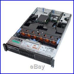 Dell PowerEdge R730 2U Rack Server CTO Up to 2x E5-2679 v4 2.5GHz 40-Core 256GB