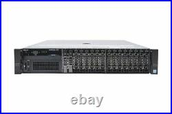 Dell PowerEdge R730 2x 12-Core E5-2680v3 2.5Ghz 256GB Ram 2x 240GB SSD 2U Server
