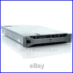 Dell PowerEdge R810 4x xeon E7-4860 2.26Ghz 10-CORE 128GB RAM 6x 160GB 10K H700