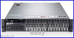 Dell PowerEdge R820 4x6-CORE XEON E5-4617 768GB RAM 2u Rack Mount Server 24 Core
