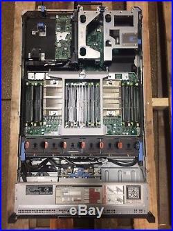 Dell PowerEdge R820 Server 4x E5-4620 16GB Memory PERC H710 2x 1100W Power