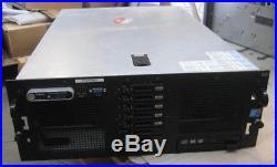 Dell PowerEdge R900 4x Xeon Quad Core X7350 @2.93GHz, 48GB RAM 5x 300GB 10K HDD
