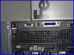 Dell PowerEdge R910 32 Core Enterprise Server 4x2.16GHz 128GB 4x300GB SAS H700