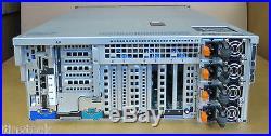 Dell PowerEdge R910 40XEON Cores 4x10Core E7-8867L 1024GB RAM Rack Mount Server