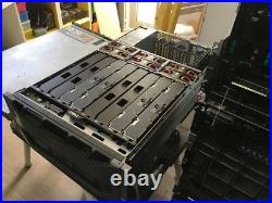 Dell PowerEdge R910 40 Cores 80 threads 4x10 Core E7-8867L 128gb ram 2.4tb sas