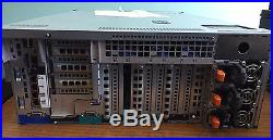 Dell PowerEdge R910 4U Server x4 Intel Xeon 2.0GhZ E7540 Six-Core 128GB RAM