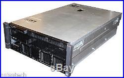Dell PowerEdge R910 4x E7-4850 2.00Ghz Xeon 10-CORES 256GB DDR3 4x450GB SAS 10K