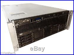 Dell PowerEdge R910 4x X7550 2.00Ghz 8-CORE 128GB RAM 4x300GB PERC H700 32-CORES
