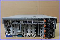 Dell PowerEdge R910 Four X7560 2.26GHz 128GB RAM 4x146gb SAS H700 Four PS