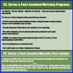 Dell PowerEdge R910 Server 4B 4x 2.26GHz X7560 32 Cores 64GB H200 RPS + 4 Trays