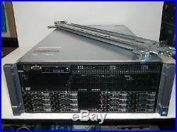 Dell PowerEdge R910 Virtualization Server 4x2.26GHz 32 Core 512GB 8x300GB SAS