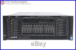 Dell PowerEdge R920 4 x E7-4880v2 (60 Cores), 128GB, 2 x 300GB SAS, H730P