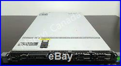 Dell PowerEdge Server R610 2x X5670 6x2.5 Tray NO HDD 192GB RAM PERC 6i