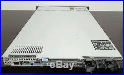 Dell PowerEdge Server R610 Dual Xeon X5670 6x250GB H700 48GB RAM Two PS RAIL